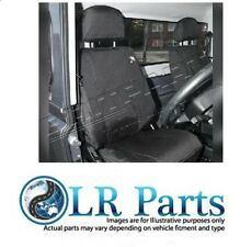 Land Rover Discovery 3 Front WATERPROOF Seat Covers DA2822 Black