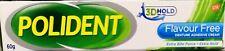 60 g.POLIDENT DENTURE ADHESIVE CREAM GLUE COMFORT REDUCE GUM IRRITATION FREE