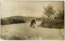 Carte Photo Course Auto Voiture Vers 1930