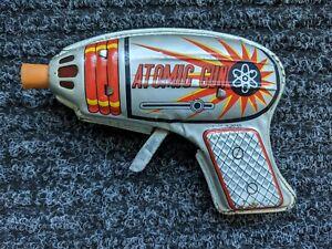 VINTAGE ATOMIC GUN JAPAN TIN TOY