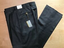 Hertling Trouser. 93% Wool 7% Cashmere | George C Fit | Size 34 | 9201. NEW.