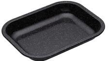 Masterclass Heavy Duty Vitreous Enamel 27cm x 21cm Roasting / Baking Tray