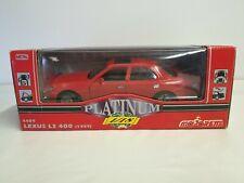 Majorette Platinum #4409 1/18 - Lexus LS400 (1989) - Red