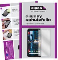 2x Folie für Google Pixel 2 XL Schutzfolie klar Displayschutz Display Schutz