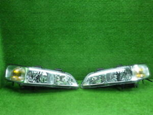 JDM 2002 Honda Accord CF3 Halogen Headlights Lights Lamps Set OEM