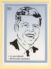 anni '90 Finitura FILM STAR CARTA FAME ALIAS #50 US President John F Kennedy