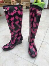 Wedge Welly Savvy Unique ladies wellington boots size UK 6