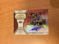 2019 Topps Series 1 - Jesus Aguilar - Red Legacy of Baseball Auto #'d 06/25