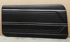 1969 Pontiac Firebird Fully Assembled Black Front Door Panels PUI (In Stock)