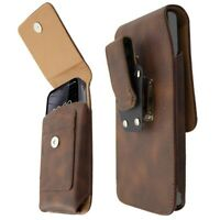 caseroxx Outdoor Case for Blackview BV6300 / BV6300 Pro in brown made of genuine