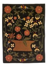 Homespice Decor 2'x3' Busy As A Bee Rug Wall Hanging Multi Layered Hand Applique