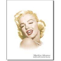 Marilyn Monroe Eternal Beauty Icon Retro  Legend Movie Star Metal Tin Sign