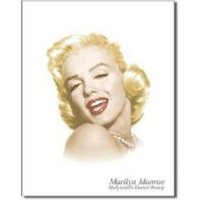 Marilyn Monroe Eternal Beauty Icon Retro  Legend Movie Star Metal Tin Sign