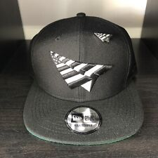 Rocnation Paper Planes New Era Hat Snapback Black White Roc Nation Pin Jay-Z