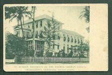 Georgetown St Hubert German Residence British Guiana 1899