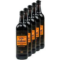 5x Lea & Perrins - Original Worcestershire Sauce 568 ml Worcester Worcestersauce