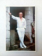 YVES MONTAND carte postale photo vintage postcard CINQUINI saint paul de vence