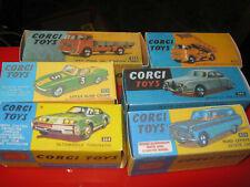 Corgi 456 458 319 208 264 424 cajas reproducción para la venta