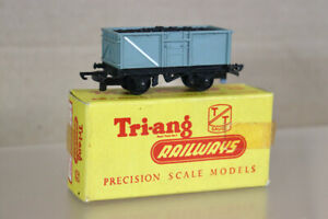 TRIANG T179 TT GAUGE BR GREY MINERAL TRUCK WAGON B44821 with COAL LOAD BOXED