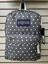 Jansport SUPERBREAK Backpack Shady Grey with White Dots!!  **New for 2016**