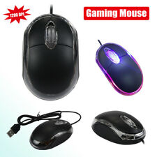 USB Wired USB Optical Gaming Game Mice Mouses For PC Laptop Computers 1200 DPI