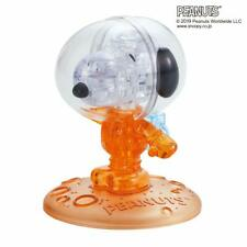 Peanuts Crystal Puzzle Snoopy Astronauts 50th Anniversary Orange 35 Piece Japan