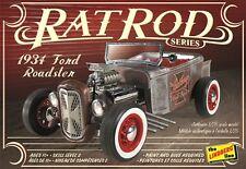 Lindberg 1:25 1934 Ford Roadster Rat Rod Plastic Model Kit HL122 LND122