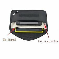 Cell Phone Anti-tracking Anti-spying GPS Rfid Signal Blocker Pouch Case Bag