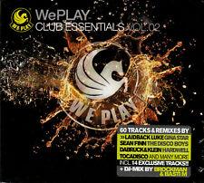3 x CD - Various - WePLAY - Club Essentials Vol. 2 *NEU & OVP*