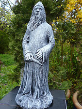 Neu Zauberer Oz Merlin Dumbledore Garten Figur-46cm-Steinguss-Frostfest OldStyle