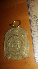 VINTAGE MEDAL ROCKLAND COUNTY NEW YORK VOLUNTEER FIREMEN'S ASSOCIATION LOOK!