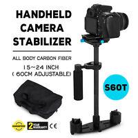 S60T Carbon Fiber Handheld Steady Stabilizer for Canon EOS 5D2/3 DSLR AU
