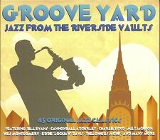 GROOVE YARD JAZZ FROM THE RIVERSIDE VAULTS - 3 CD BOX SET - BILL EVANS & MORE