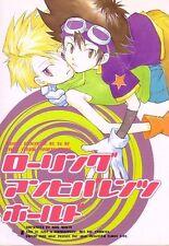 """DIGIMON Adventure YAOI Doujinshi """" Rolling Ambivalence Hold """" Taichi Yamato"""