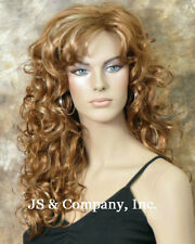 AMAZING Big Open WAVES Blonde Mix Wig Stunning TRCA 27-613