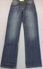 HUGO BOSS ORANGE 31 Mens BLUE REGULAR FIT BUTTON FLY DENIM JEANS NWT 30 x 34