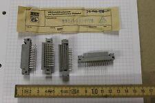 10x DDR RFT Embase de connecteurs Barre coudée 3x13 pôles 2A8 33246-402-3720