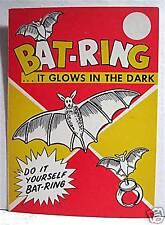 Bat Ring Gumball Vending Machine Card Old Store Stock