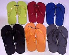 New Men's Unisex Flip Flops/Shower Shoes Blue, Orange, Black,Red,Lime Green,Grey