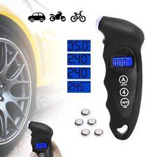 Digital LCD Tyre Pressure Gauge Tester Measurement Car Motorcycle Bike Van Tool