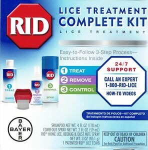 RID LICE COMPLETE TREATMENT KIT TO KILL LICE *DM