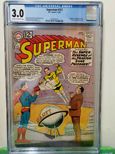 Superman #157  CGC 3.0 Supergirl and Legion appearance