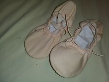 """Girls play dress up ballerinadance shoes. Pink. not sized but are 7""""x3""""."""
