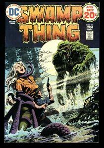 Swamp Thing #11  VF+ (8.5) OWW  DC Comics 1974 (vol 1) Bernie Wrightson Horror