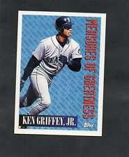 1994 Topps Measures of Greatness Ken Griffey Jr. #606
