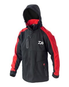DAIWA SOFTSHELL RED  JACKET DSSRDXL RRP£79.99 DSSRD-XL