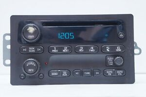*READ* UNLOCKED 2006 GMC Cadillac Buick AM FM Radio CD Player OEM 15234915