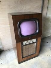 More details for vintage antique rare television and radio ultra ltd london cased mahogany prop