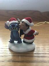 Disney Lilo And Stitch Kiss Christmas Ornament