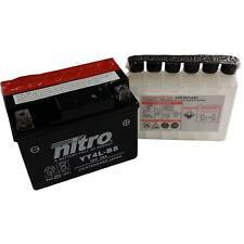 Batterie Pour 50ccm PGO Big Max 50 année modèle 1994-2010 (ytx4l-bs)